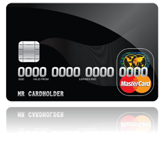 银行黑卡素材照片